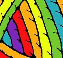 rainbow yarn by josephine queen