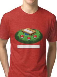 The hardest decision of my life Tri-blend T-Shirt