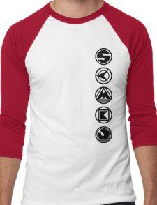 Ninja Coins Men's Baseball ¾ T-Shirt