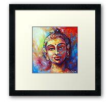 Enlightened Buddha Framed Print