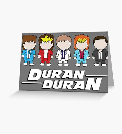 Duran Duran Greeting Card