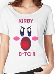 Kirby B*tch Women's Relaxed Fit T-Shirt