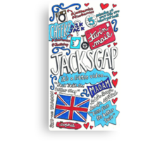 JacksGap Collage Art Canvas Print