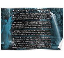 ❤‿❤ AN ANSWER TO MY PRAYER POEM WRITTEN BY BONITA❤‿❤ Poster
