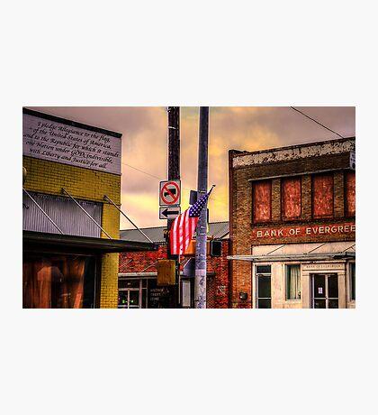 I Pledge Allegiance Photographic Print
