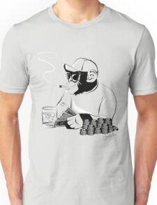 Chimp poker Unisex T-Shirt