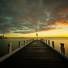 Geelong  Waterfront Sunrise by Danielle  Miner