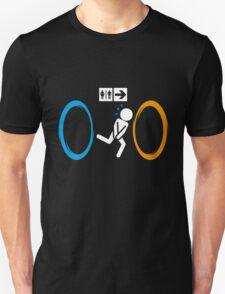 Portal Toilet Unisex T-Shirt