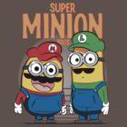 Super Minion Bros. by TeeKetch