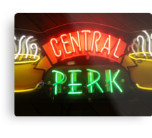 'Friends' Central Perk Sign Metal Print