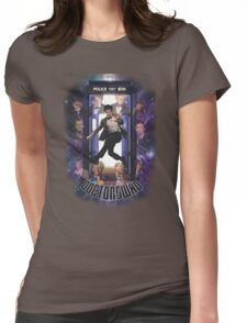 The Doctors Who Womens Fitted T-Shirt