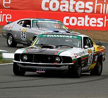 John Bowe - Touring Car Masters - Queensland Raceway by Noel Elliot
