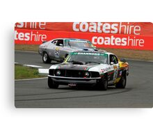 John Bowe - Touring Car Masters - Queensland Raceway Canvas Print