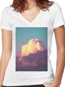 Double Approval Women's Fitted V-Neck T-Shirt