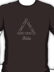 Ride / Chain / Outlines T-Shirt