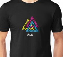Ride / Chain / Solid Color Unisex T-Shirt