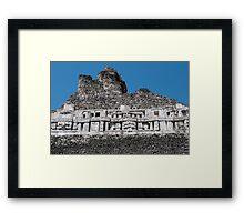 Xunantunich Mayan Ruins in Belize Framed Print