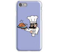 cook chef cuisinier chicken iPhone Case/Skin