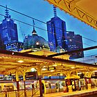 flinders street station, melbourne 5.50AM by MCANTO