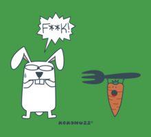 F**K! - Rabbit vs Carrot with Fork by Kokonuzz