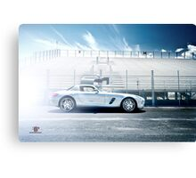 Silver Bullet Canvas Print