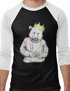 Bigi Bear Men's Baseball ¾ T-Shirt