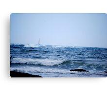 Newport Sailing Canvas Print
