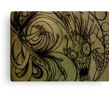 Creeper.  Canvas Print