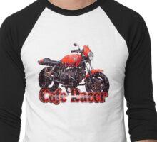 Cafe Racer Motorcycle Men's Baseball ¾ T-Shirt
