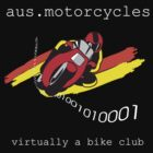 aus.motorcycles - ausmoto BIGGER LOGO by Amy Lewis