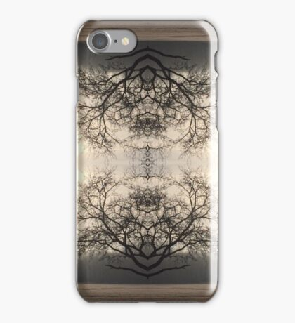 Mandala down by the river iPhone Case/Skin