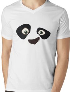 Kung Fu Panda Mens V-Neck T-Shirt