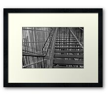Stairway, Madison Museum of Contemporary Art Framed Print