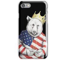Bigi Bear America iPhone Case/Skin
