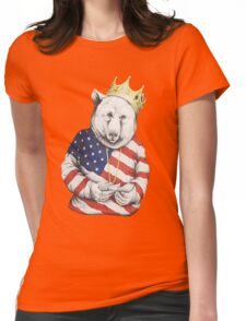 Bigi Bear America Womens Fitted T-Shirt