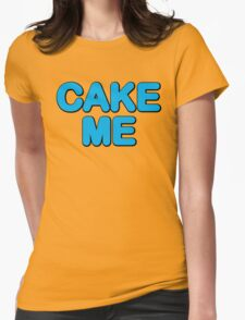 Cake Me Aoki! Womens Fitted T-Shirt