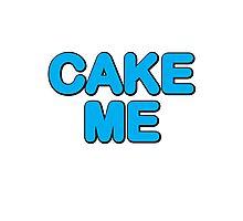 Cake Me Aoki! Photographic Print