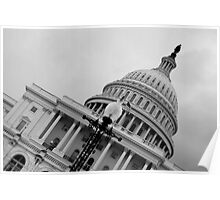 Capitol Hill - Washington DC Poster