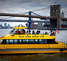 New York Water Taxi by breeanne