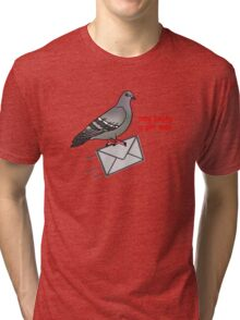 Omg becky u got mail Tri-blend T-Shirt