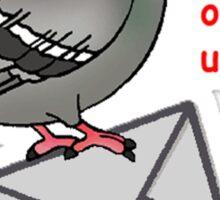 Omg becky u got mail Sticker