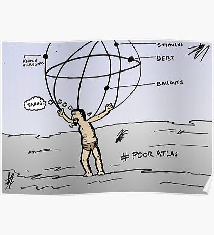 Atlas editorial economics comic Poster