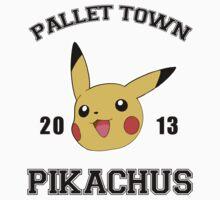 Pallet Town- Pikachus by Mangelaman