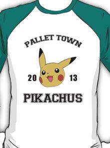 Pallet Town- Pikachus T-Shirt