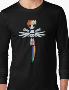 DASH-E Mk.1 - My Little Portal Long Sleeve T-Shirt