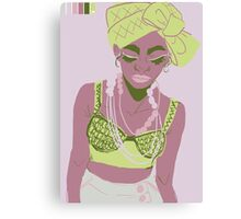 The Necklace Canvas Print