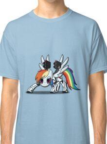 DASH-E Mk.2 - My Little Portal Classic T-Shirt