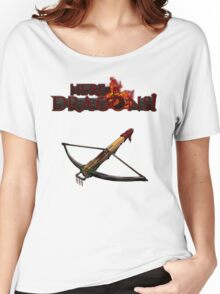 Dragon Hunter's Crossbow Women's Relaxed Fit T-Shirt