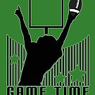 Game Time - Football (Green) by Adamzworld