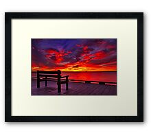 """""""Front Row Seat"""" Framed Print"""